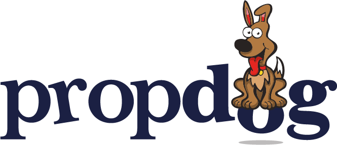 propdog magic shop logo
