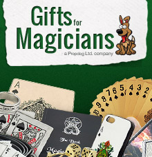 gifts for magicians advert