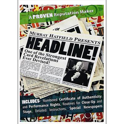 HEADLINE! by Murray Hatfield