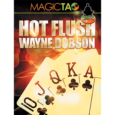 Hot Flush by Wayne Dobson and MagicTao - Blue