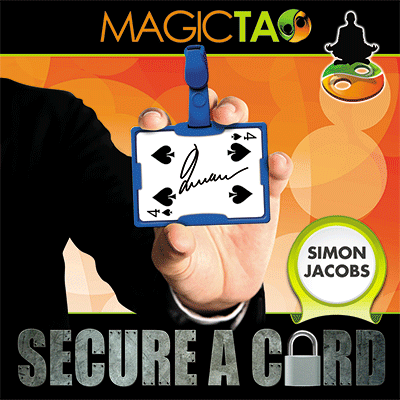Secure A Card by Simon Jacobs and MagicTao - Blue