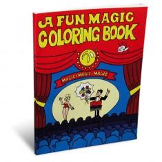 3 Way Colouring Book A4