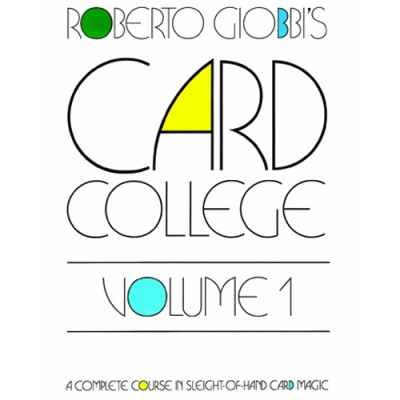 Card College Volume 1 - Roberto Giobbi