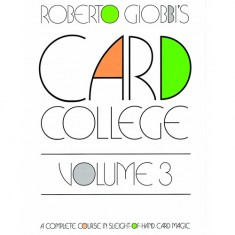 Card College Volume 3 - Roberto Giobbi