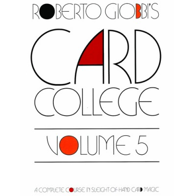 Card College Volume 5 - Roberto Giobbi