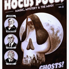 Hocus Pocus - Ghosts - Magic, Mystery and the Mind Comic by Richard Wiseman - PropDog Exclusive