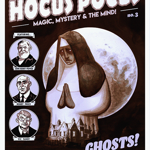 Hocus Pocus Issue 3 - Magic, Mystery and the Mind Comic by Richard Wiseman - PropDog Exclusive