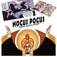 Hocus Pocus Issue 1 - Magic, Mystery and the Mind Comic by Richard Wiseman - PropDog Exclusive