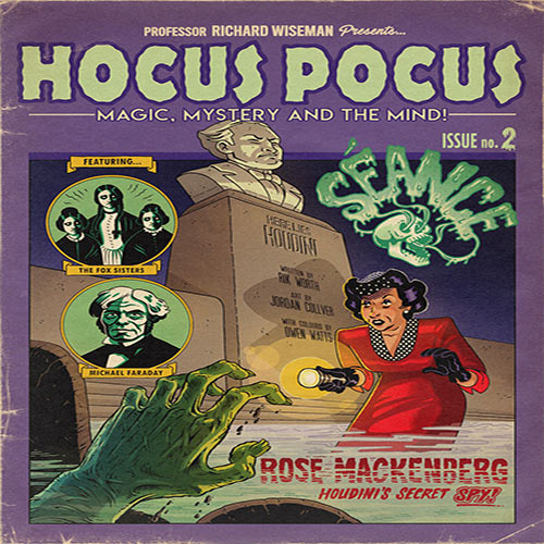 Hocus Pocus Issue 2 - Magic, Mystery and the Mind Comic by Richard Wiseman - PropDog Exclusive
