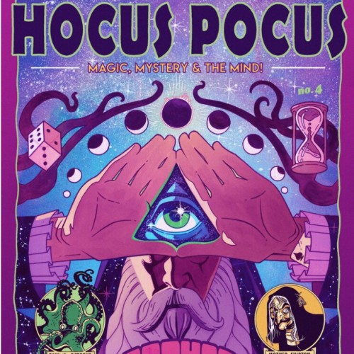 Hocus Pocus - Prophecy - Magic, Mystery and the Mind Comic by Richard Wiseman - PropDog Exclusive