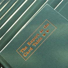 Expert At The Card Table JOURNAL (Green) by Magic Encarta