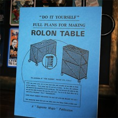 Plans for the Rolon Table by Supreme Magic