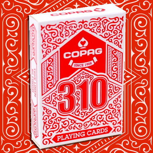 Copag 310 Playing Cards - Red