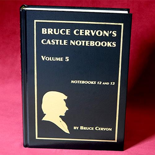 Bruce Cervon Castle Notebook - Volume 5