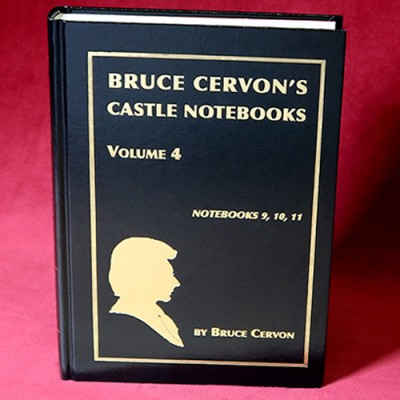 Bruce Cervon Castle Notebook - Volume 4