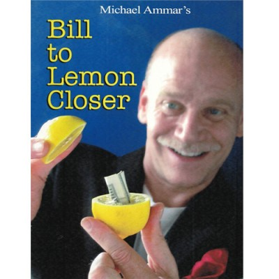 Michael Ammar - Bill to Lemon Closer Booklet - Limited Edition Signed Copy