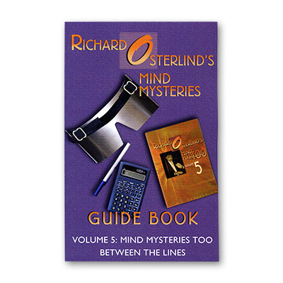 Mind Mysteries Guide Book Vol 5 by Richard Osterlind