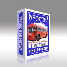 Phoenix Single Decker - Blue Back