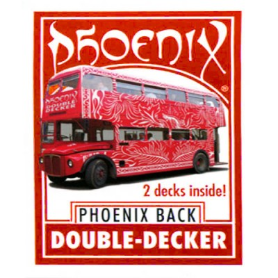 Phoenix Double Decker Large Index - Red Back