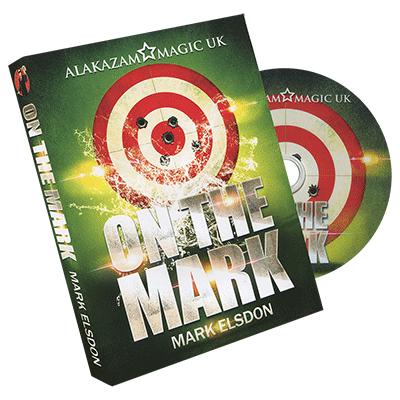 On the Mark (Large) with DVD by Mark Elsdon and Alakazam Magic