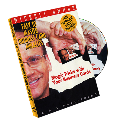 Easy To Master Business Card Miracles by Michael Ammar DVD