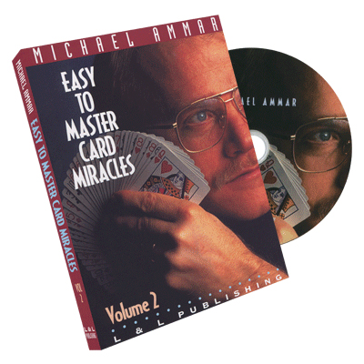 Easy to Master Card Miracles Volume 2 by Michael Ammar