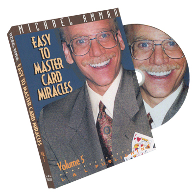 Easy to Master Card Miracles Volume 5 by Michael Ammar