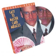 Easy to Master Card Miracles Volume 6 by Michael Ammar
