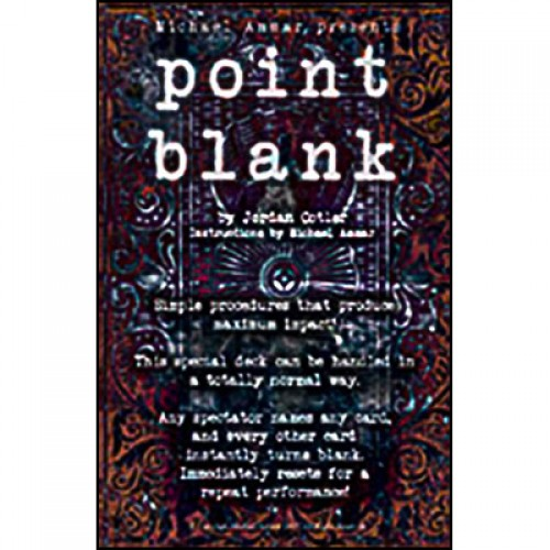 Point Blank by Michael Ammar and Jordan Cotler