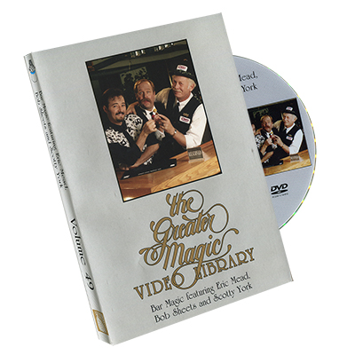 Greater Magic Video Library Volume 49 - Bar Magic
