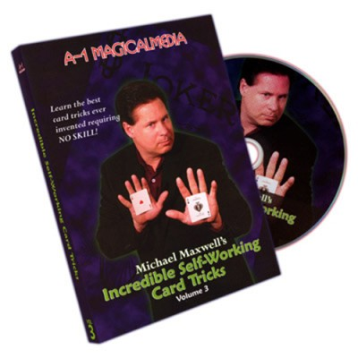 Incredible Self Working Card Tricks - Volume 3 by Michael Maxwell