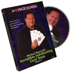 Incredible Self Working Card Tricks - Volume 6 by Michael Maxwell