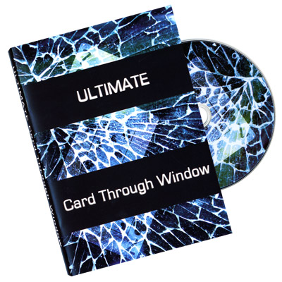 Ultimate Card Through Window by Eric James - DVD
