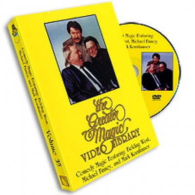 Greater Magic Video Library Volume 35 - Comedy Magic