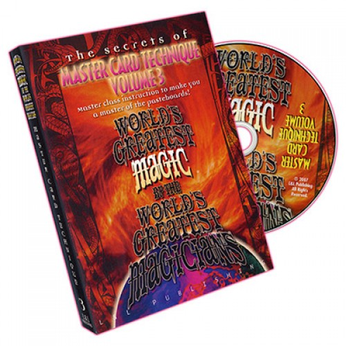 World's Greatest Magic - Master Card Technique Volume 3