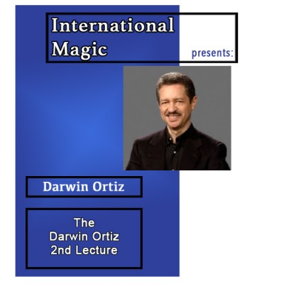 International Magic Lecture DVD - Darwin Ortiz