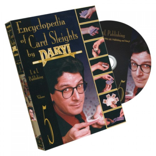 Encyclopedia of Card Sleights by Daryl - Volume 5 DVD