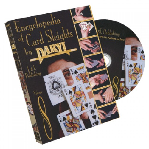 Encyclopedia of Card Sleights by Daryl - Volume 8 DVD