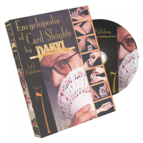 Encyclopedia of Card Sleights by Daryl - Volume 7 DVD