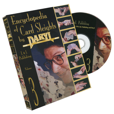 Encyclopedia of Card Sleights by Daryl - Volume 3 DVD