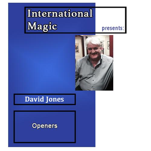 International Magic Lecture DVD - David Jones