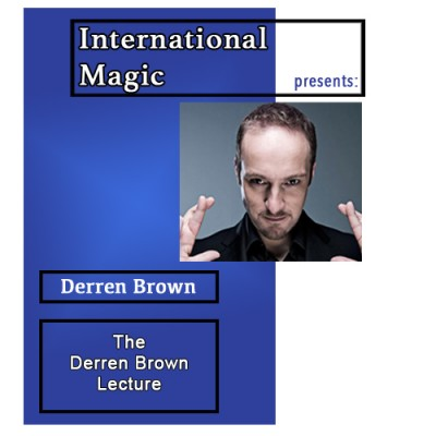 International Magic Lecture DVD - Derren Brown