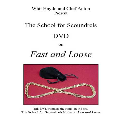 Fast and Loose DVD by Chef Anton and Pop Haydn