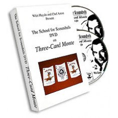 Three Card Monte DVD by School for Scoundrels