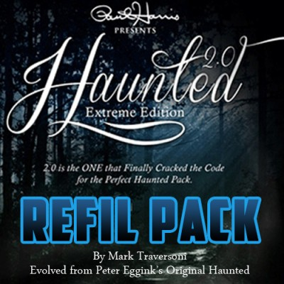 Haunted 2.0 REFILLS (Chip and Supplies) - Peter Eggink and Mark Traversoni