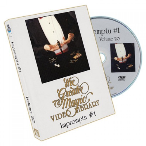Greater Magic Video Library Volume 20 - Impromptu Magic Volume 1