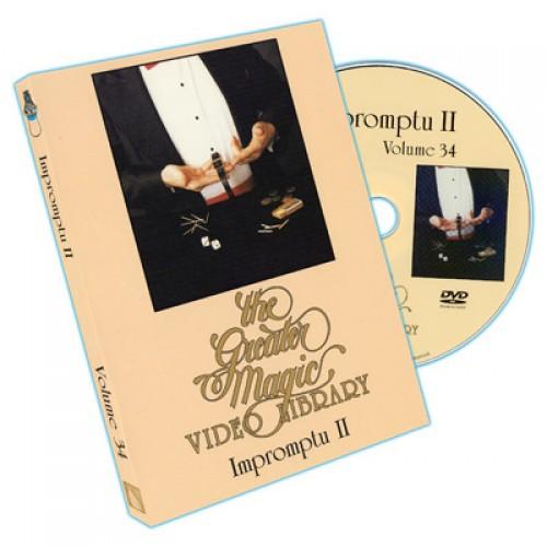 Greater Magic Video Library Volume 34 - Impromptu Magic Volume 2