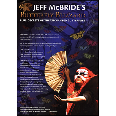 Jeff McBride's Butterfly Blizzard - Props and DVD