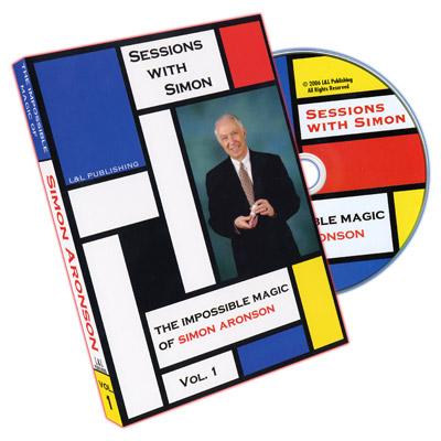 Sessions With Simon: The Impossible Magic Of Simon Aronson - Volume 1