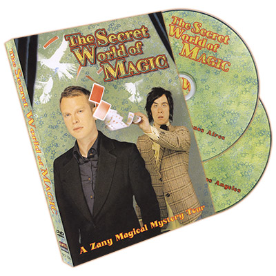 The Secret World of Magic by Pete Firman and Alistair Cook (2 DVD Set)
